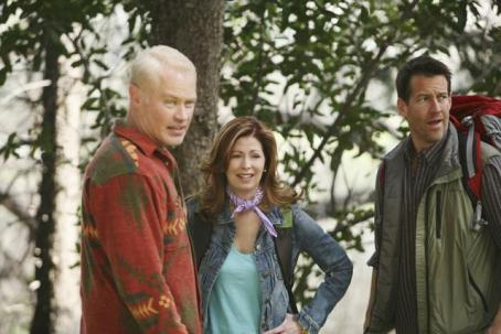 Neal McDonough as Dave, Dana Delaney as Katherine, and James Denton as Mike