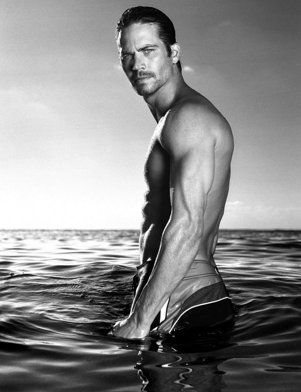 Paul Walker B&W