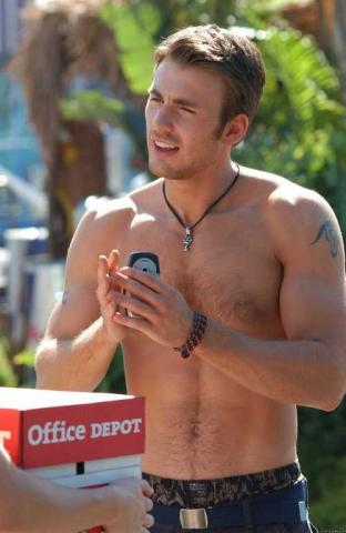 "Chris Evans in ""Cellular"""