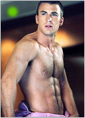 "Chris Evans in ""Fantastic Four"""