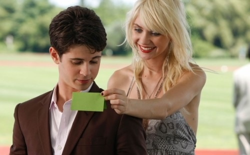 Connor Paolo as Eric and Taylor Momsen as Jenny